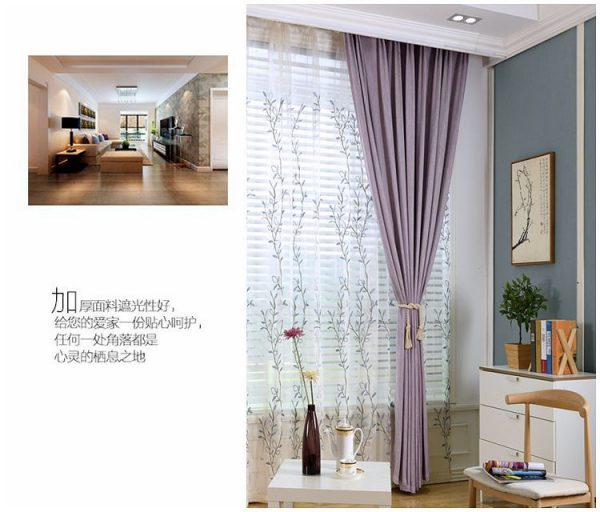 Kiểu dáng rèm vải sang trọng và hiện đại