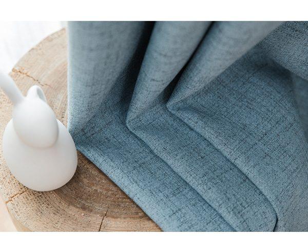 Chất liệu vải cản sáng giá rẻ màu xanh