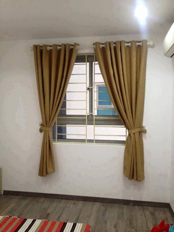 Rèm vải lắp đặt cho cửa sổ